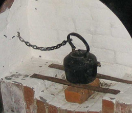 Chained kettle