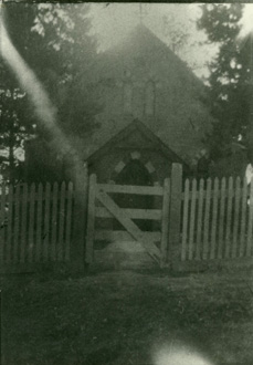 Church 1900 front gate